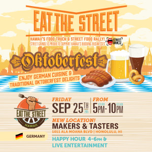 Eat The Street: Oktoberfest @ Makers & Tasters | Honolulu | Hawaii | United States